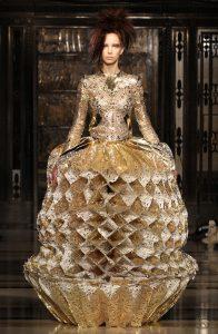 Inbar Spector Gold Dress